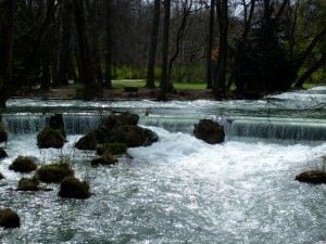 River running in Munich