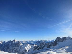 View from the Zugspitzplatt/Zugspitze