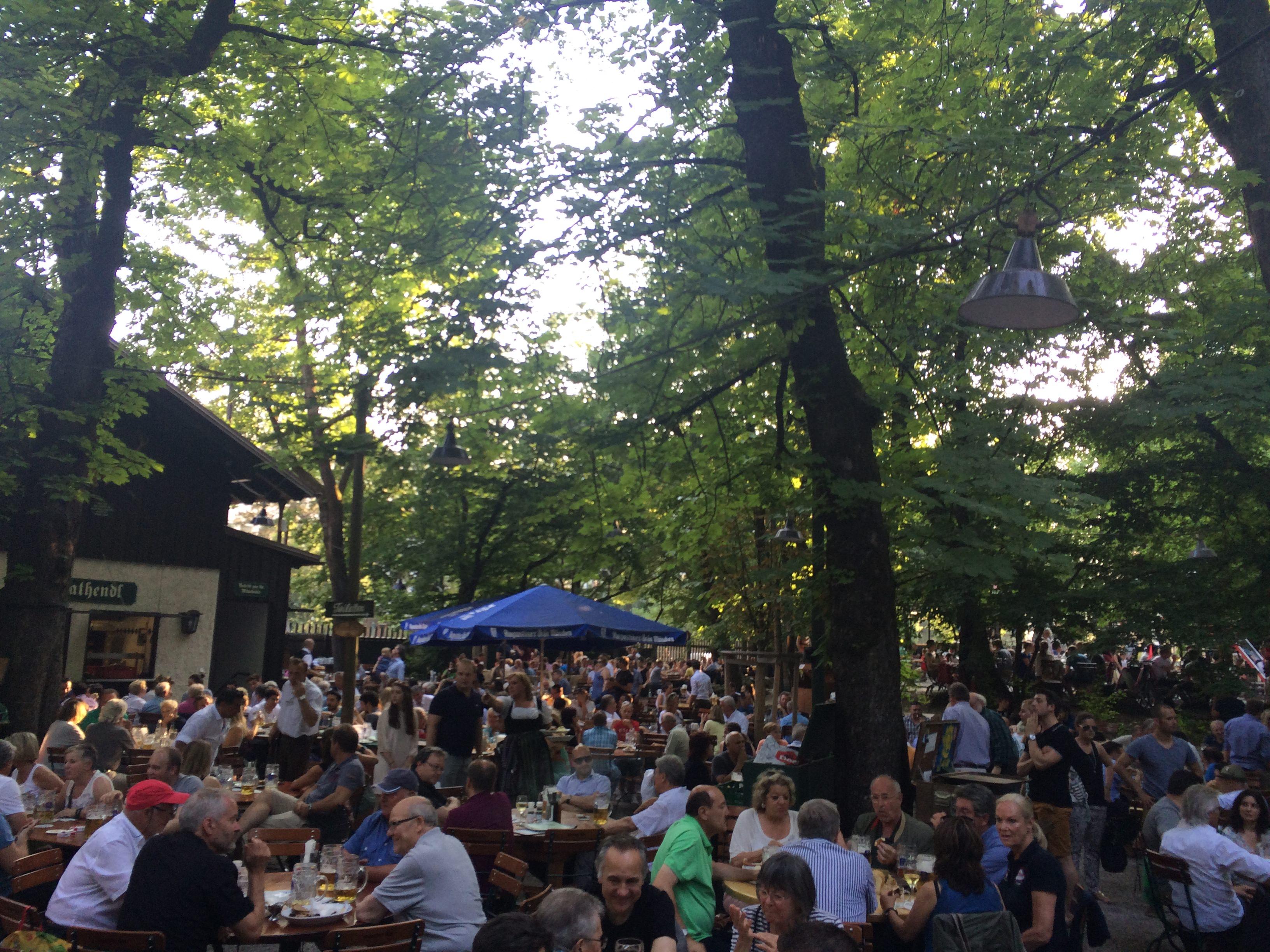 Best Beer Gardens In Munich Moving To Munich