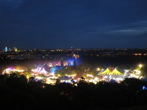 Tollwood - view from Olympiaberg