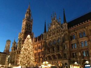 Christmas market Marienplatz