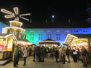 Christmas market Residenz