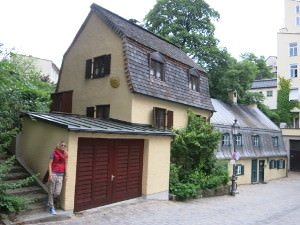 An der Kreppe - one of Munich's oldest buildings
