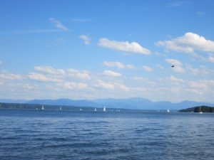 Starnberger See and the Alps